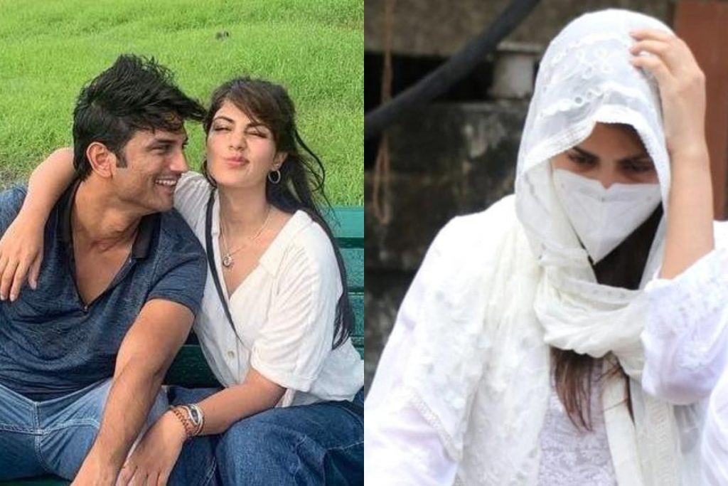 ED seized mobile information of Rhea Chakraborty, including his father and brother (Source: Twitter)